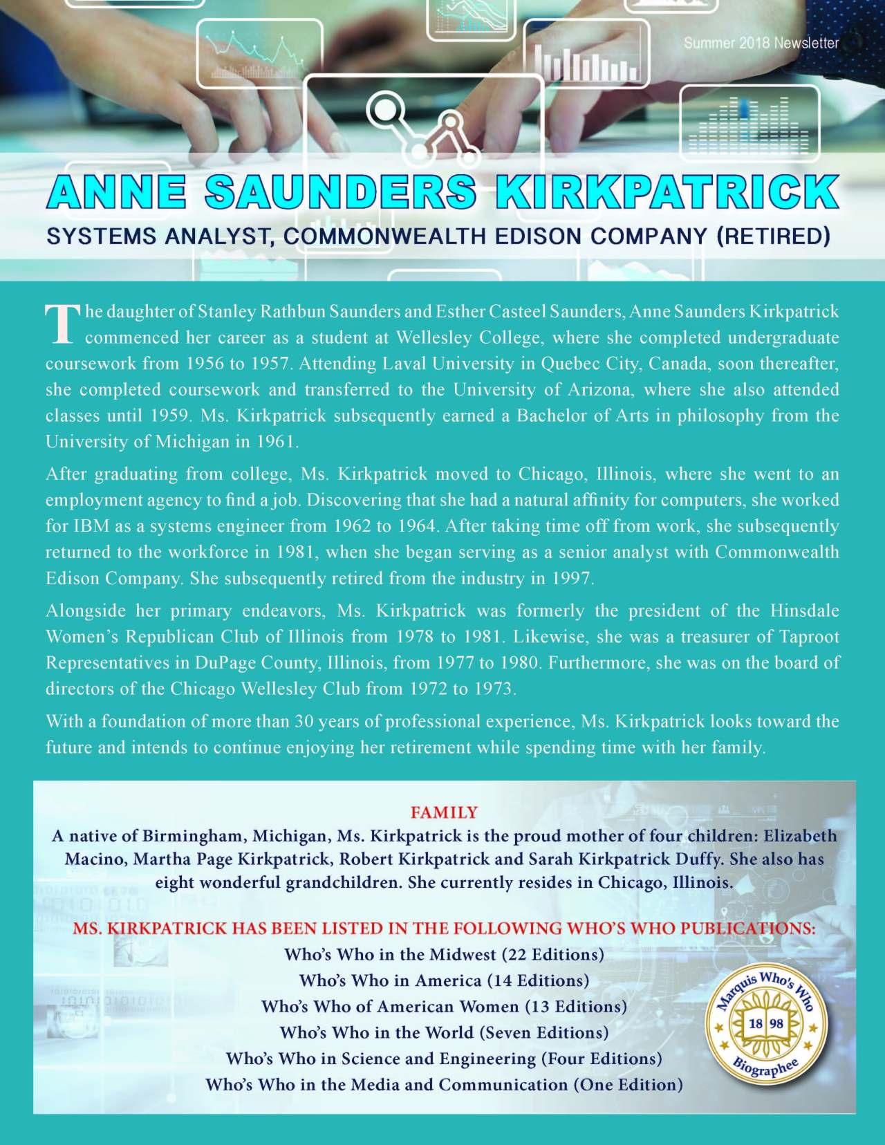 Kirkpatrick, Anne 3992666_3417091 Newsletter
