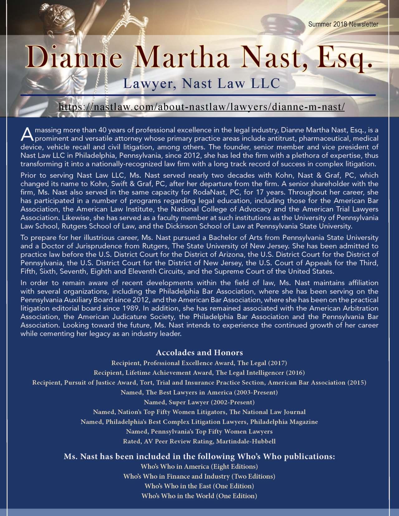 Nast, Dianne 2212213_3294453 Newsletter