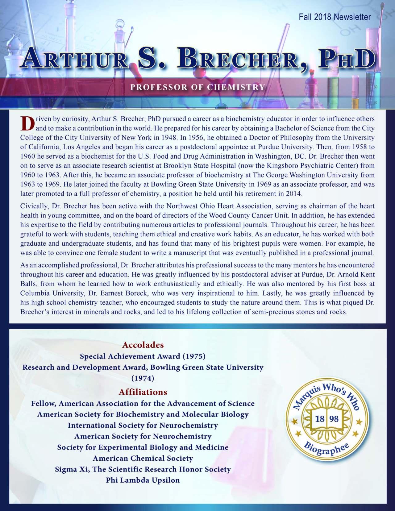 Brecher, Arthur 2154755_2150642 Newsletter
