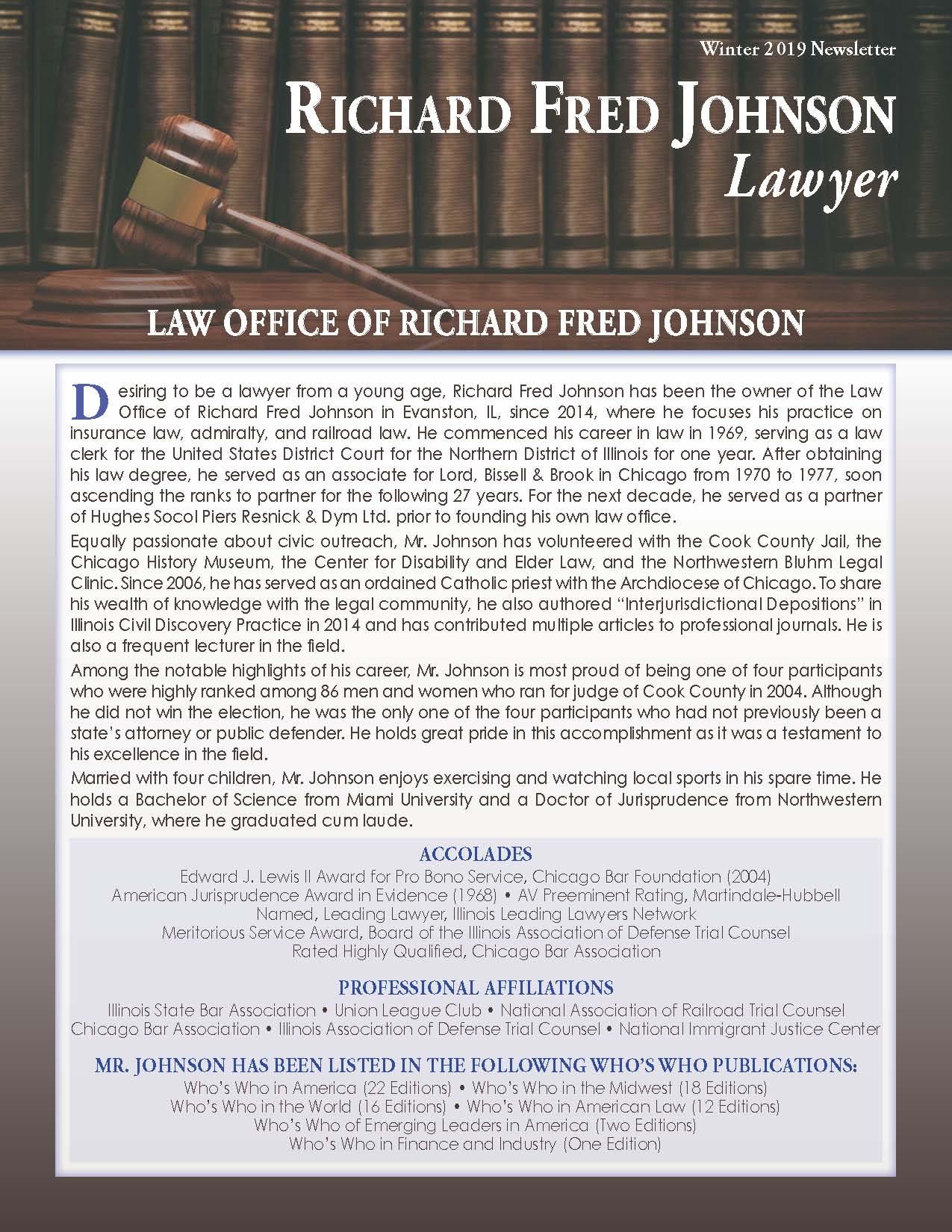 Johnson, Richard 4051467_380180 Newsletter
