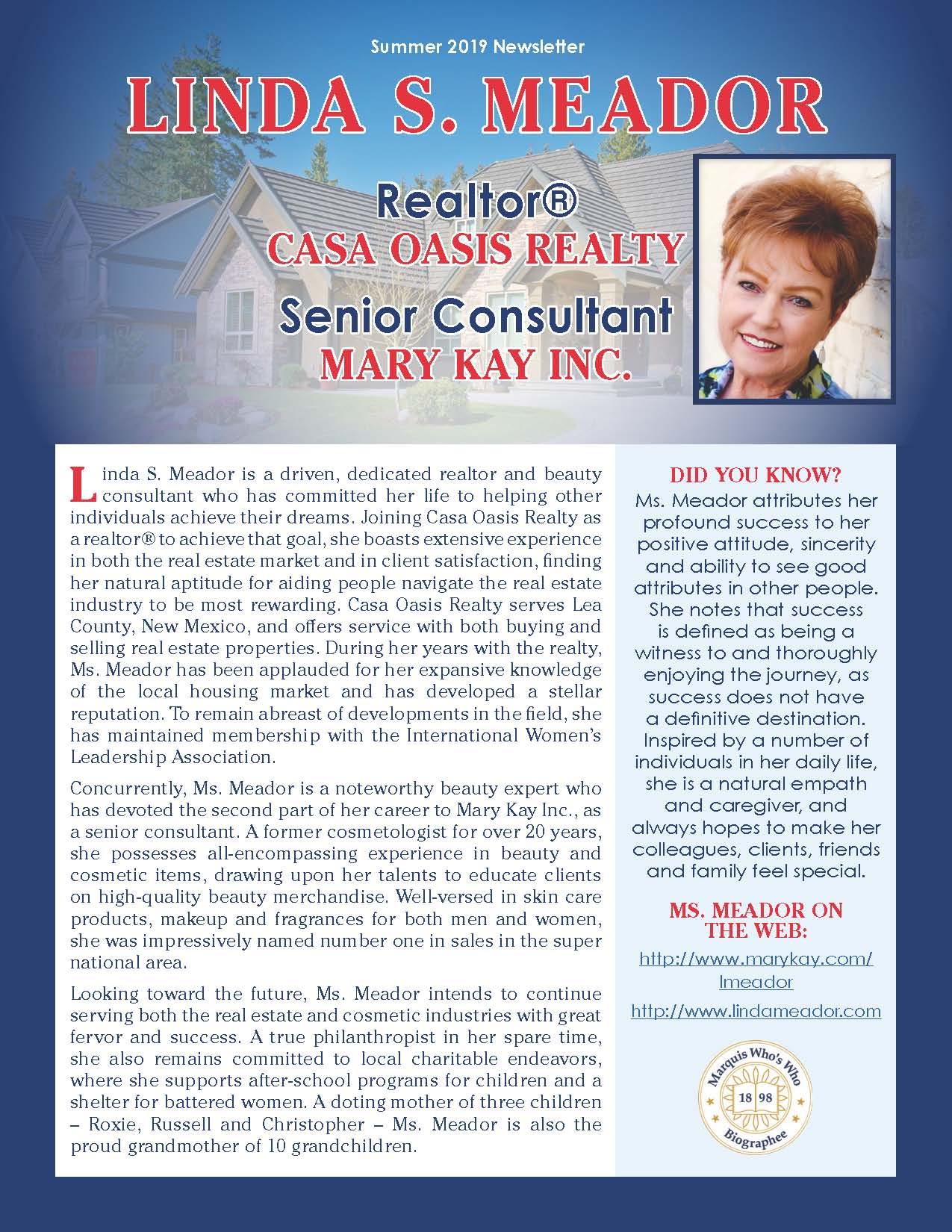 Meador, Linda 2063173_4002063173 Newsletter