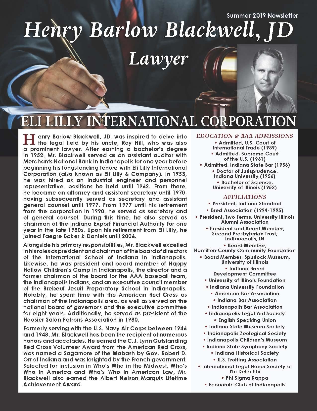 Blackwell, Henry 4296726_2252856 Newsletter