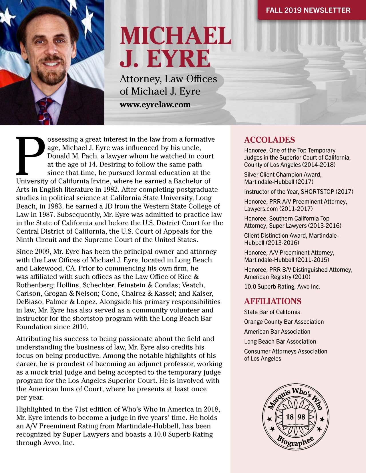 Eyre, Michael 1863236_40004045 Newsletter