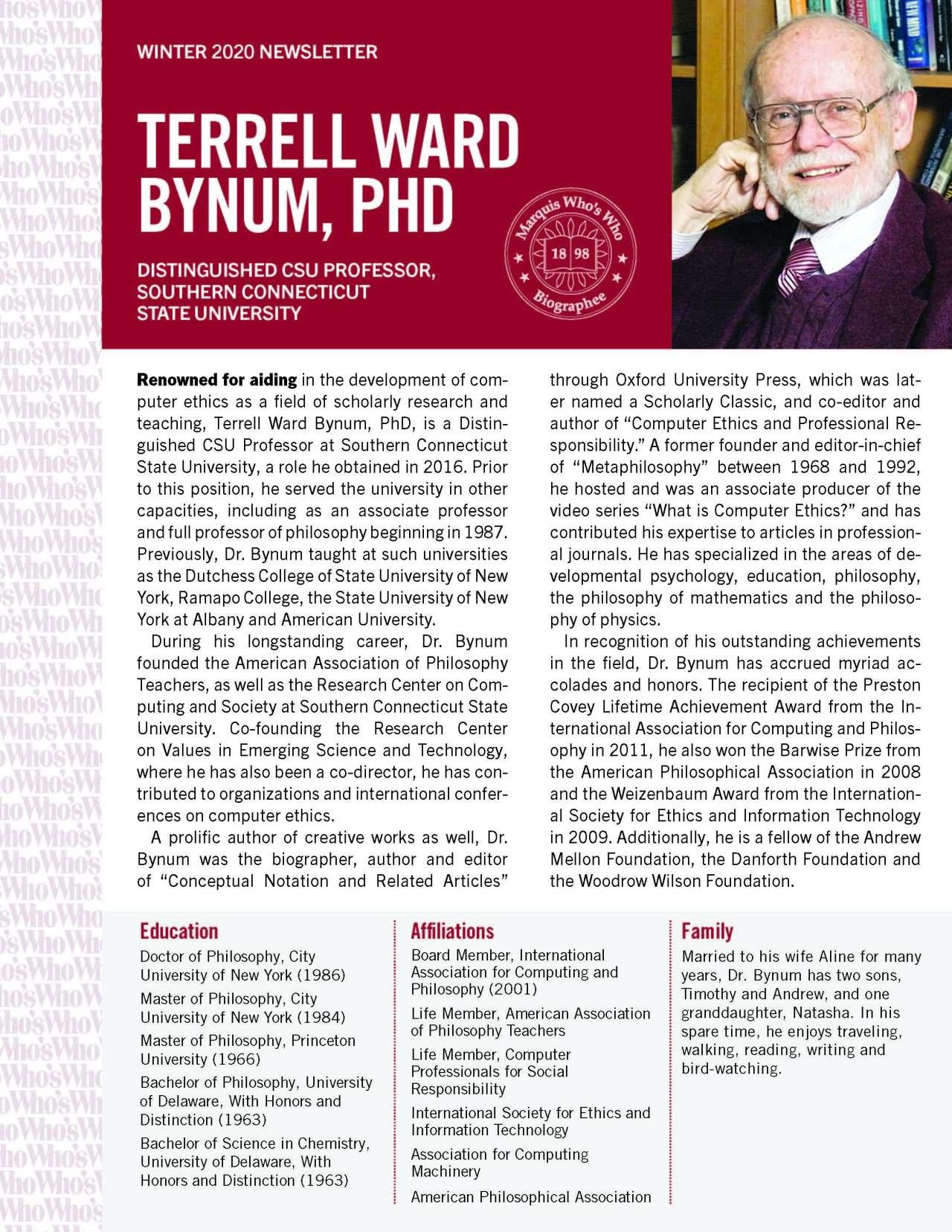 Bynum, Terrell 3980102_30849285 Newsletter