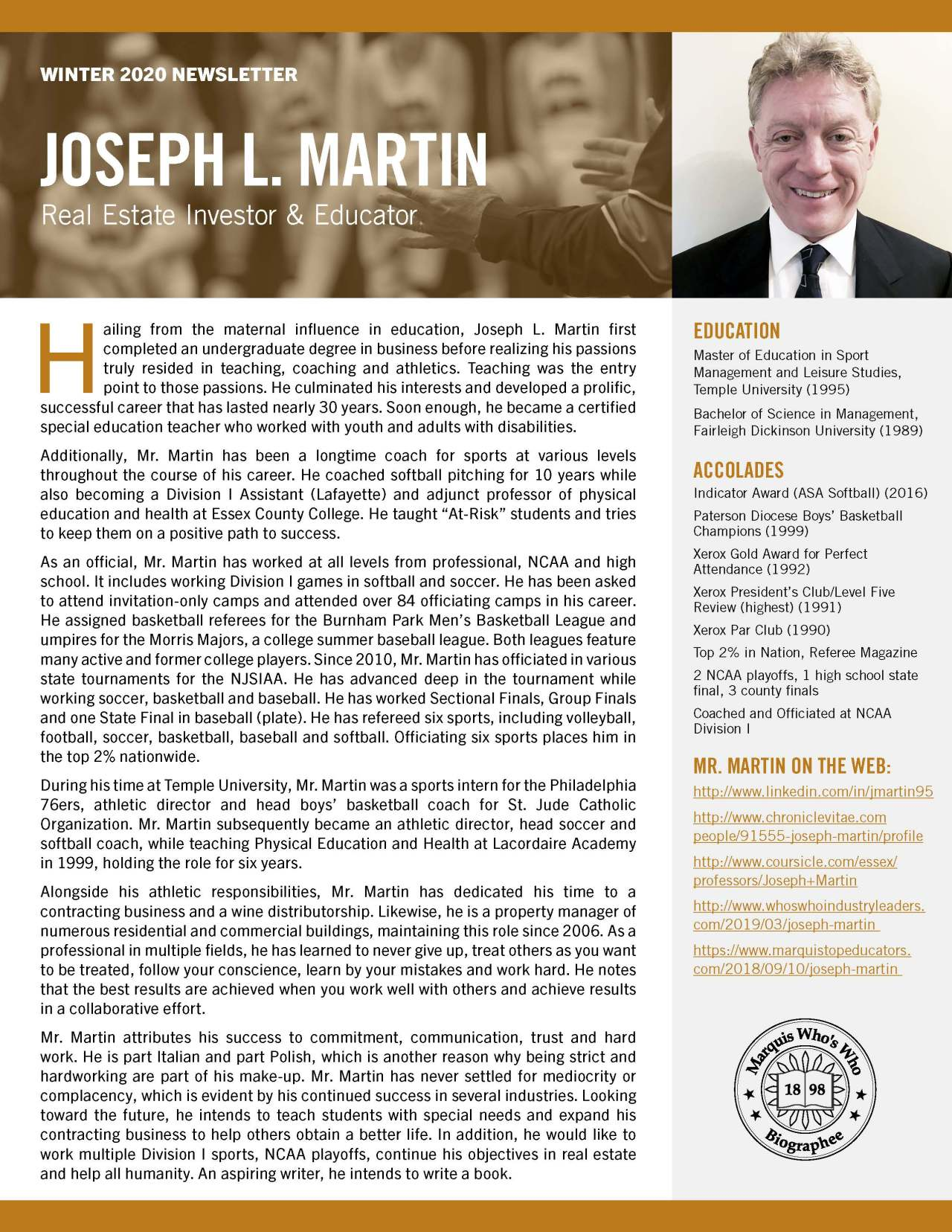 Martin, Joseph 3936391_4003936391 Newsletter REVISED