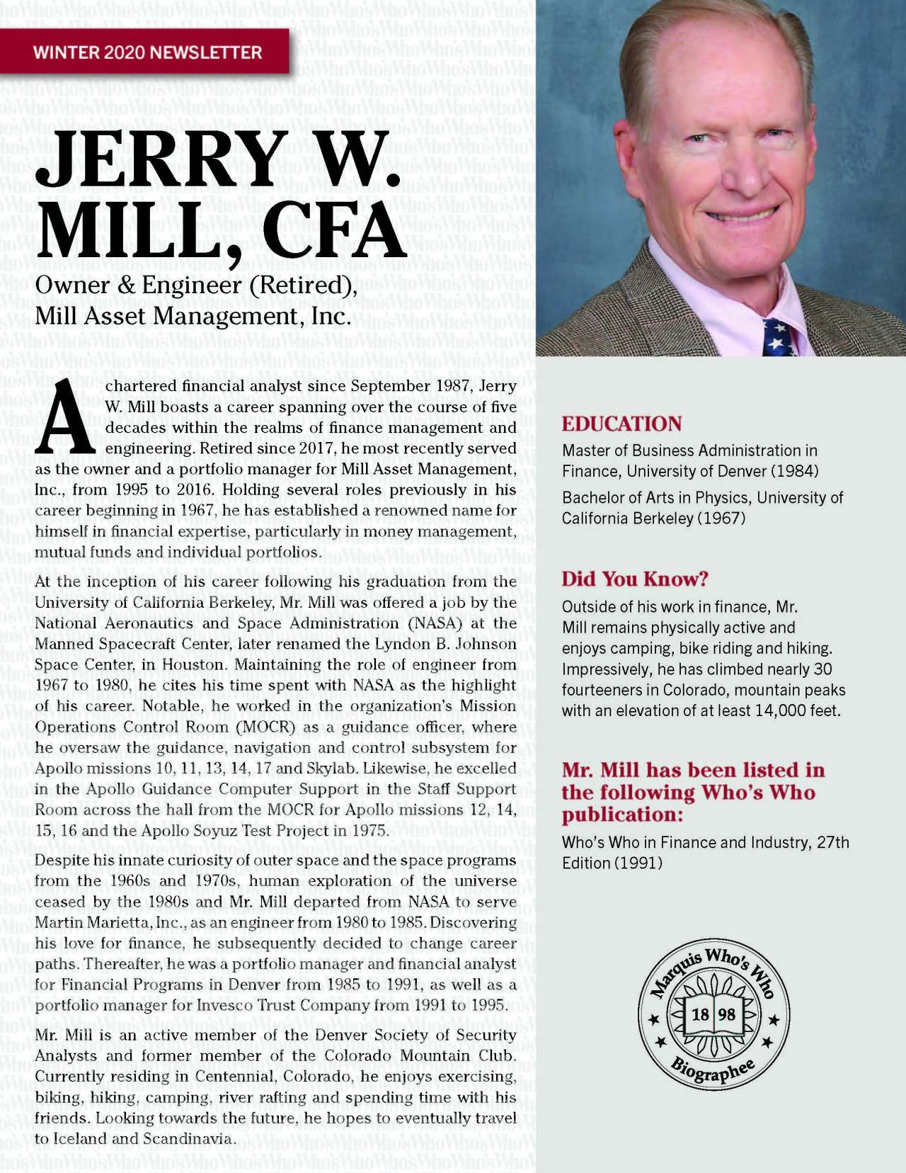 Mill, Jerry 4562440_20050209 Newsletter