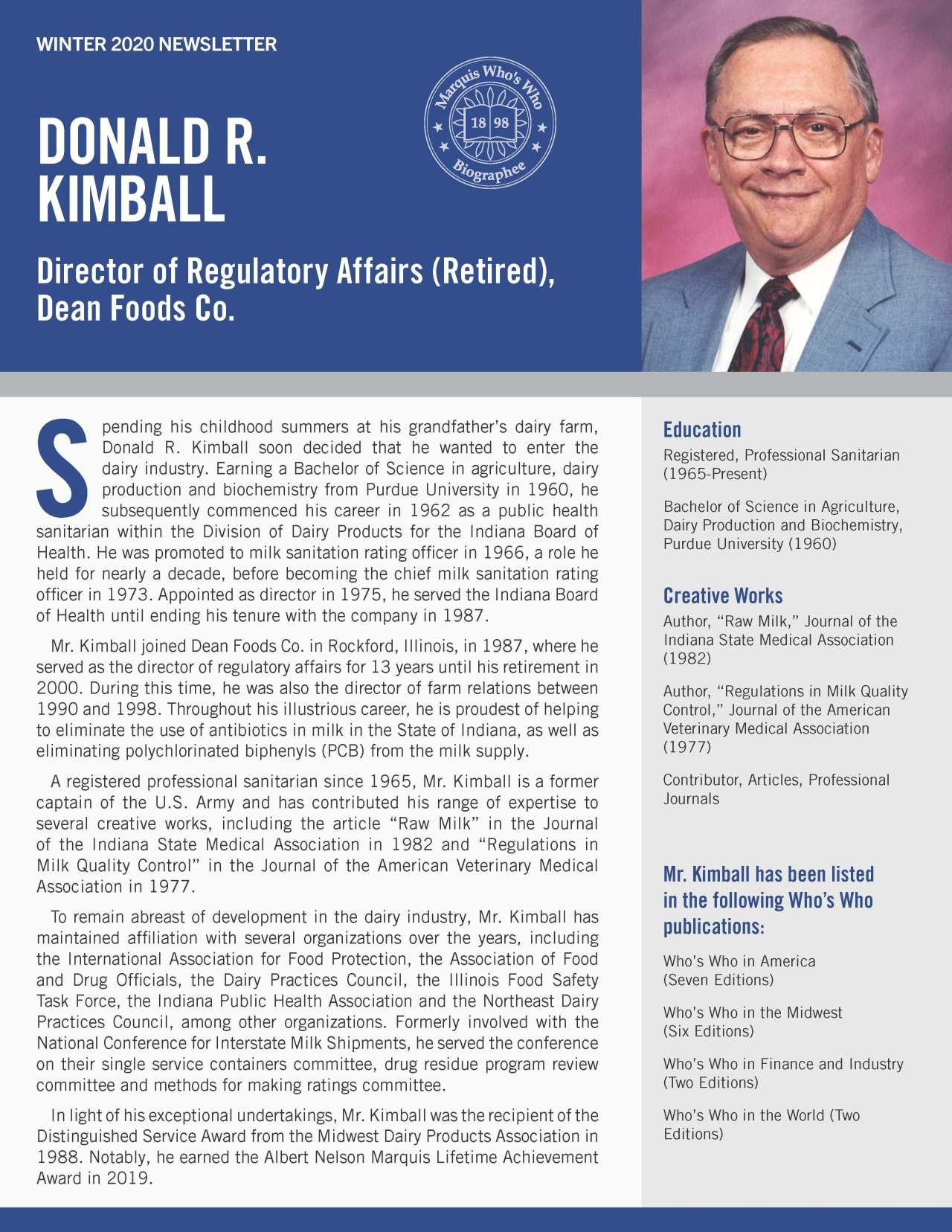 Kimball, Donald 4285649_17485765 Newsletter