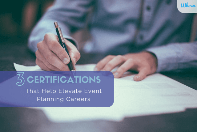 3 Certifications That Help Elevate Event Planning Careers