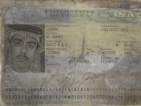 Passport of Saeed al-Ghamdi.