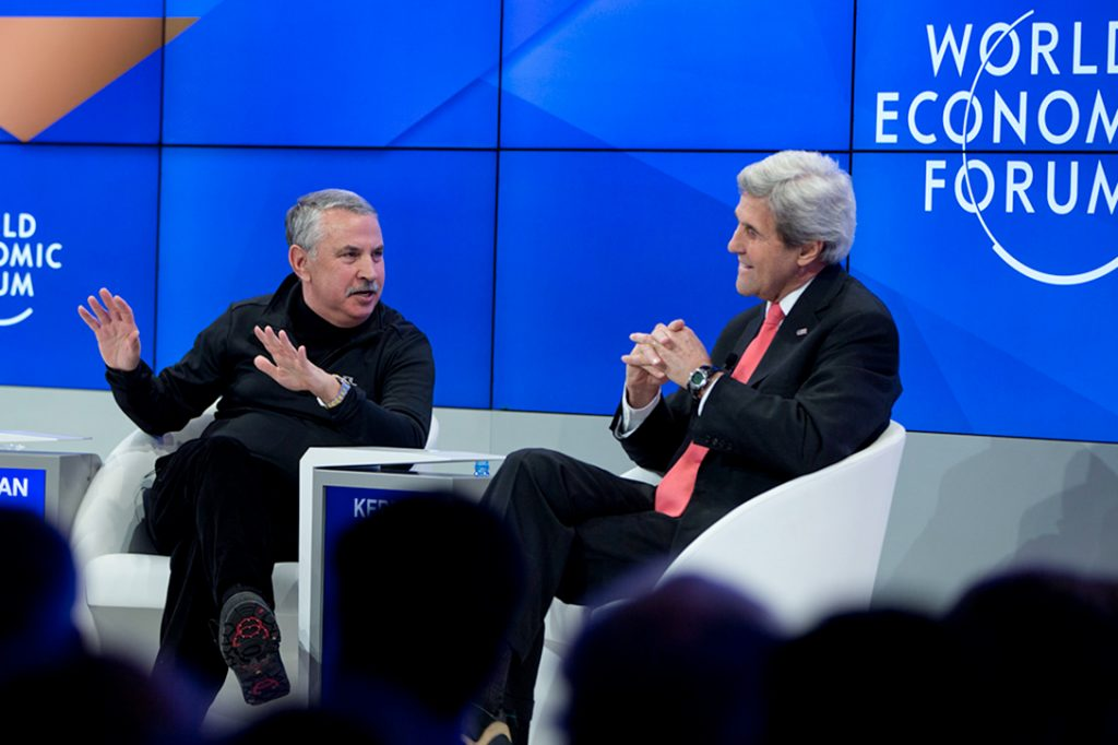 Tom Friedman, John Kerry