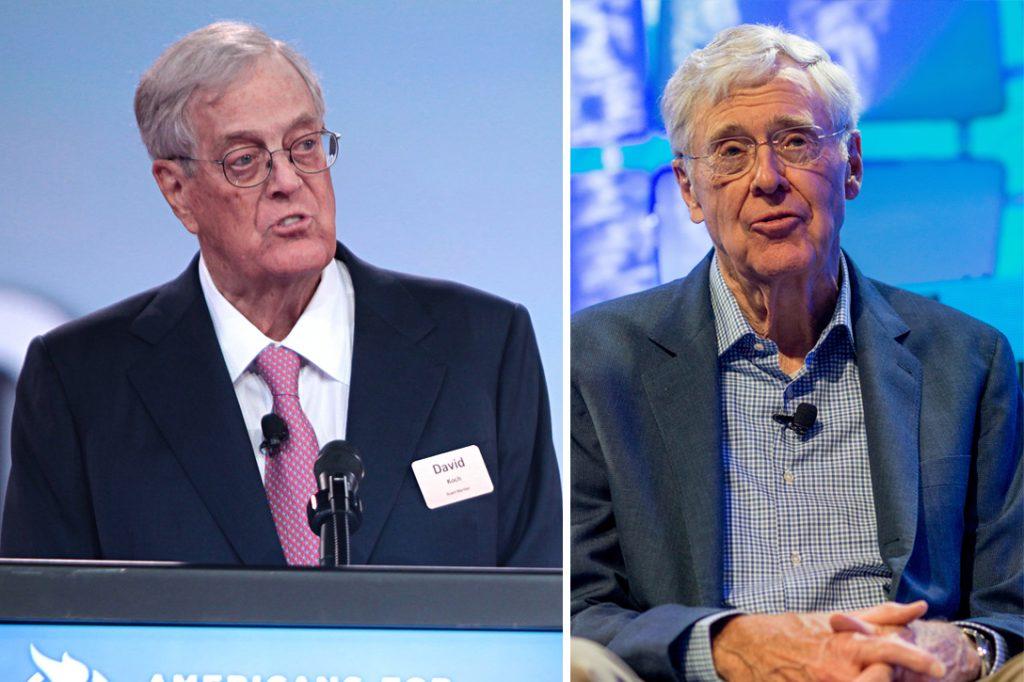 David Koch, Charles Koch