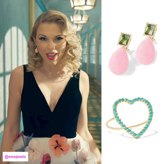 266131e999802 All The Jewelry in Taylor Swift's 'ME' Video – Who Wore What Jewels