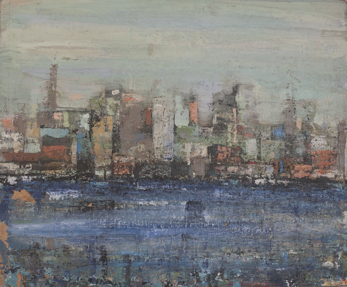 """Approach to Pittsfield, unfinished, 29"""" x 24"""""""