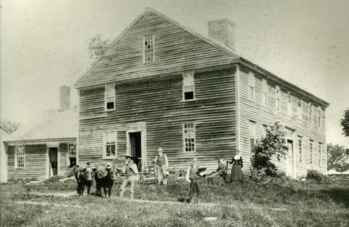 The Huntington Parsonage, 1885.