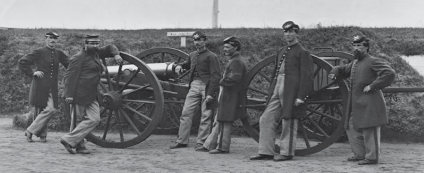 This photography shows members of the 3rd Mass. Heavy Artillery, which would have looked similar to the 2nd.