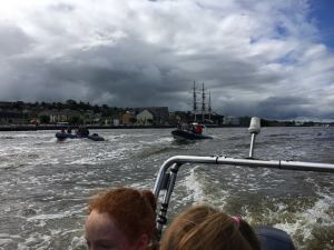 New Ross with Dunbrody in background