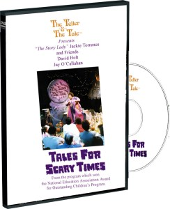 Scary Times DVD template
