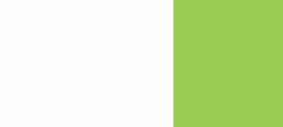 White + Green Background