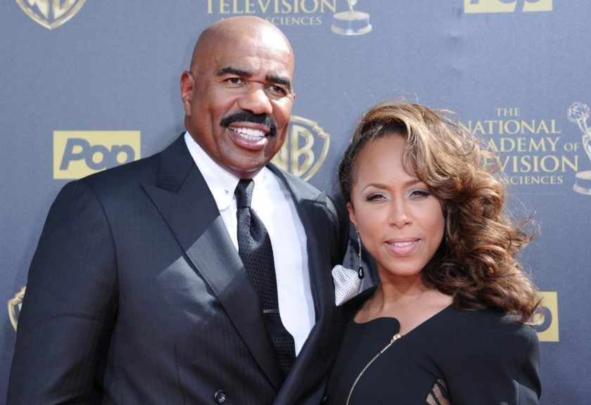 Image result for steve harvey and marjorie harvey