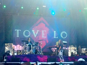 Tove Lo performs at Boston Calling. Photo by Aiden Ford