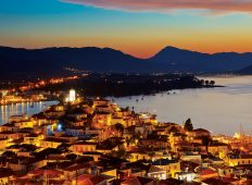 poros-by night