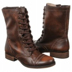 Steve Madden Troopa Brown Lace Boot