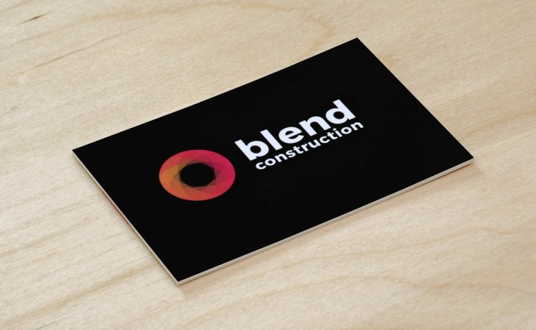 Blend Construction Business Card by Moo.com