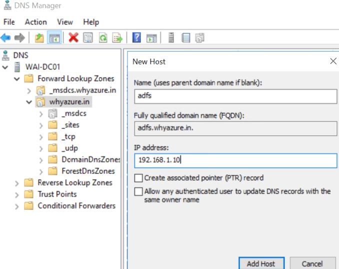 ADFS   Why Azure?