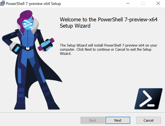 Step by Step installation of PowerShell 7 Preview and Az