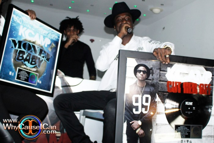 K Camp Only Way Is Up album listening party in Atlanta