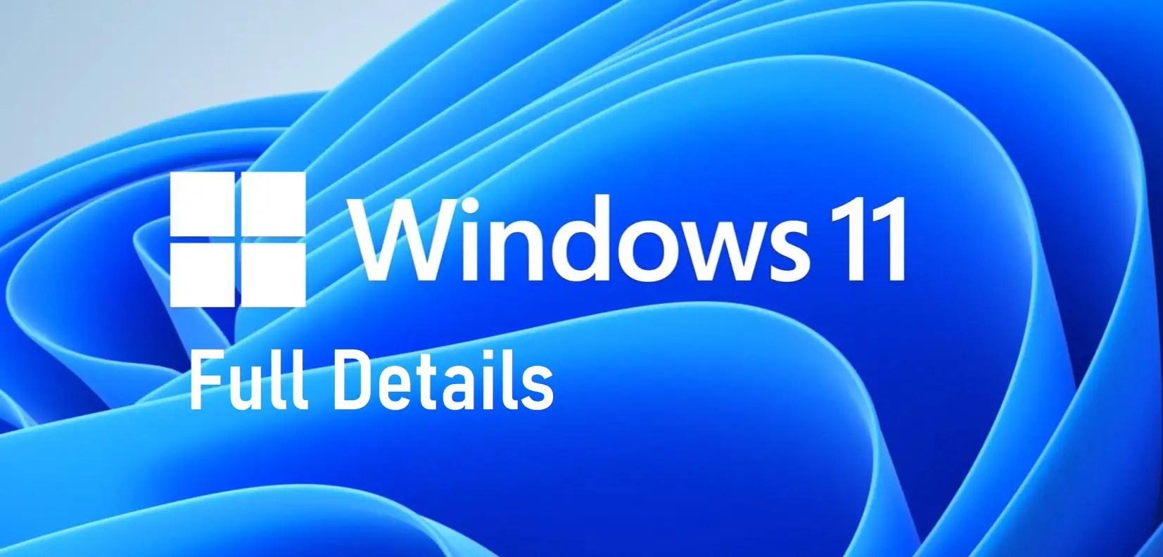 Windows 11 features, release date, beta, download