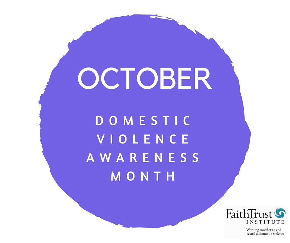 October is DV Awareness Month
