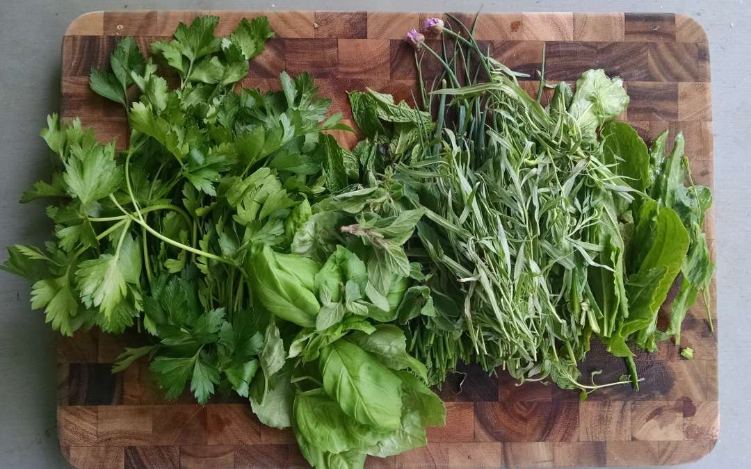 Spring herb solution: Virginia Green Sauce