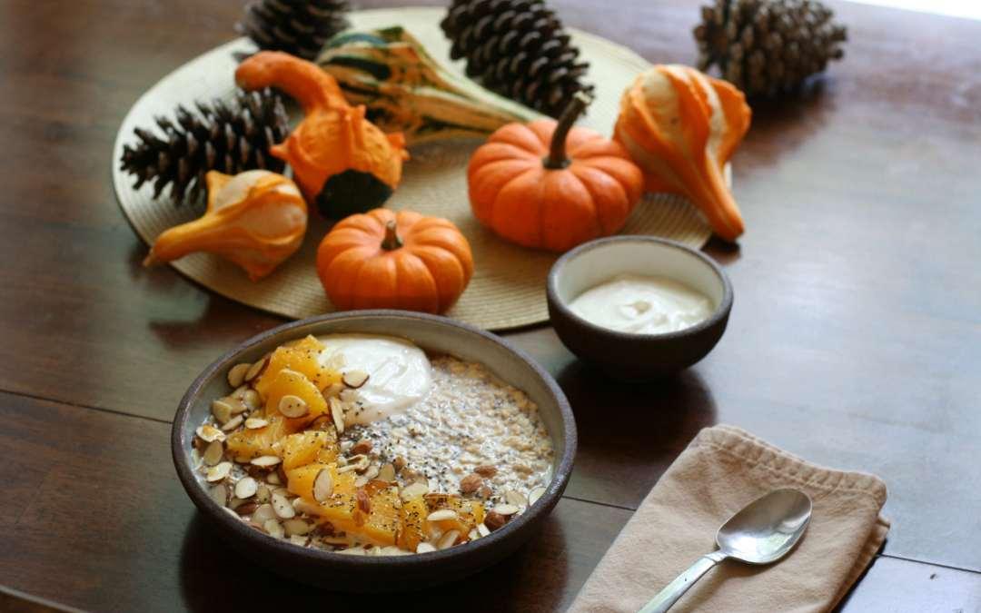 Cardamom & Almond Overnight Oats