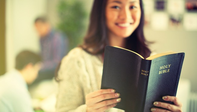 young teens and bible reading