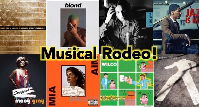 New Music Rodeo! Whoop!