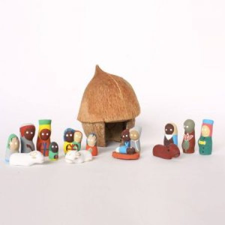 haitian-coconut-nativity