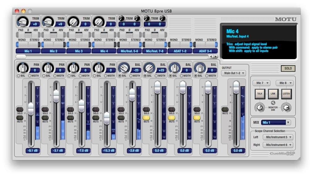 Interface Mix Software