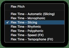 Logic Pro X Slicing Mode