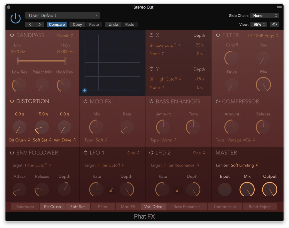 Logic Pro X Phat FX