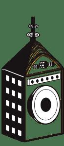 Brass Palace Recording Logo Smeared