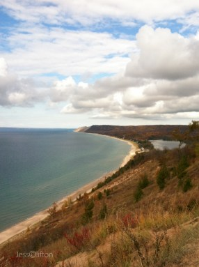 View from Empire Bluff @ Fall