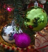 Christmas Bulb Reflection