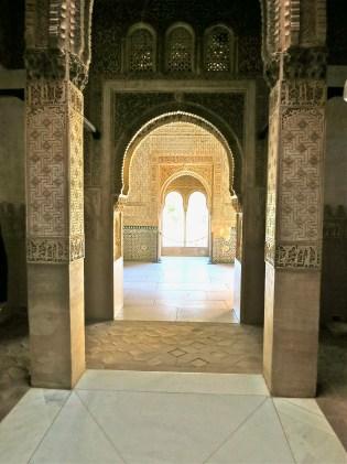 Palace apartment at Alhambra Granada Spain, Copyright Mandy Sinclair