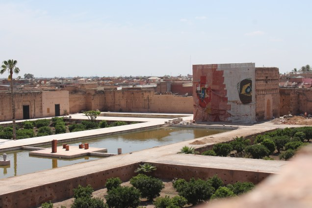 Badii Palace during Marrakech Biennale 6. © Mandy Sinclair