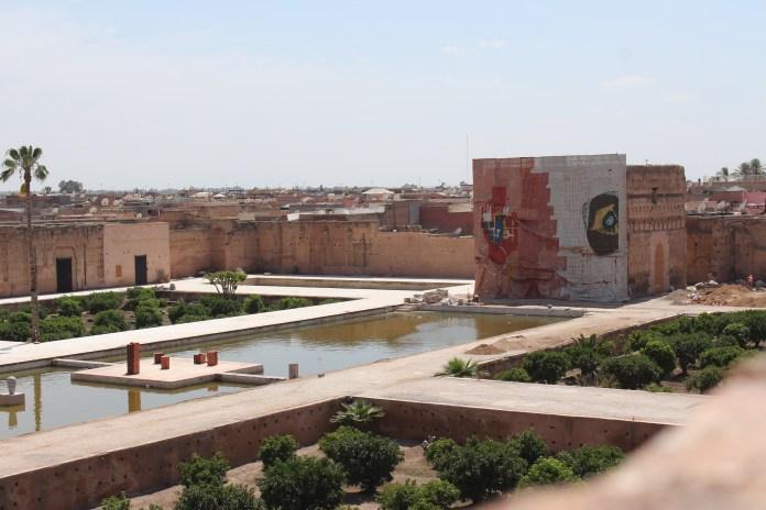 Badii Palace during Marrakech Biennale 6. © Mandy Sinclair