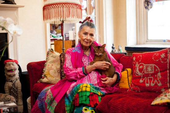 Emily Lemer, 77, has lived in New York for 38 years. You can catch her on Advanced Style. (Source: manrepeller.com)