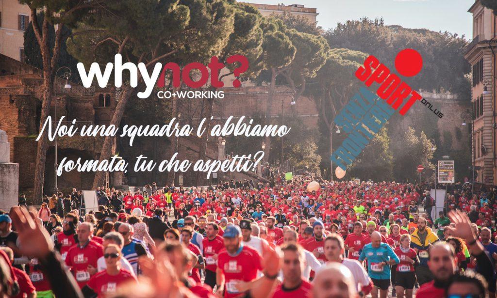 Sport Senza Frontiere Onlus Charity Partner Maratona di Roma
