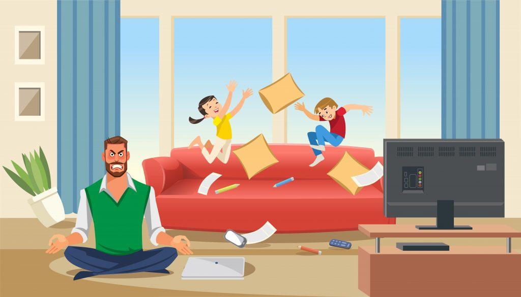 Smart Working Home Working Coworking