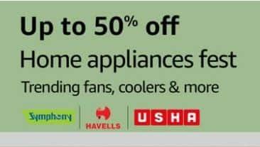 Amazon Home Appliances Fest